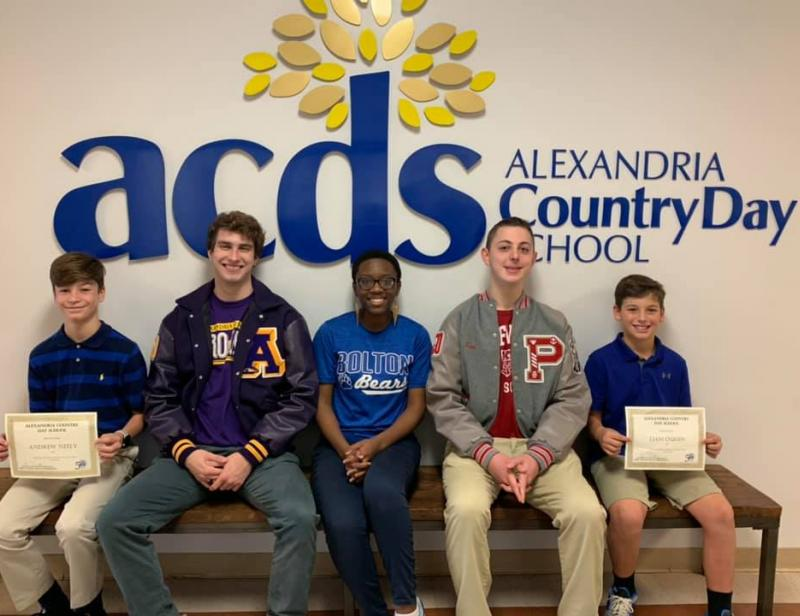 ACDS students of the year.